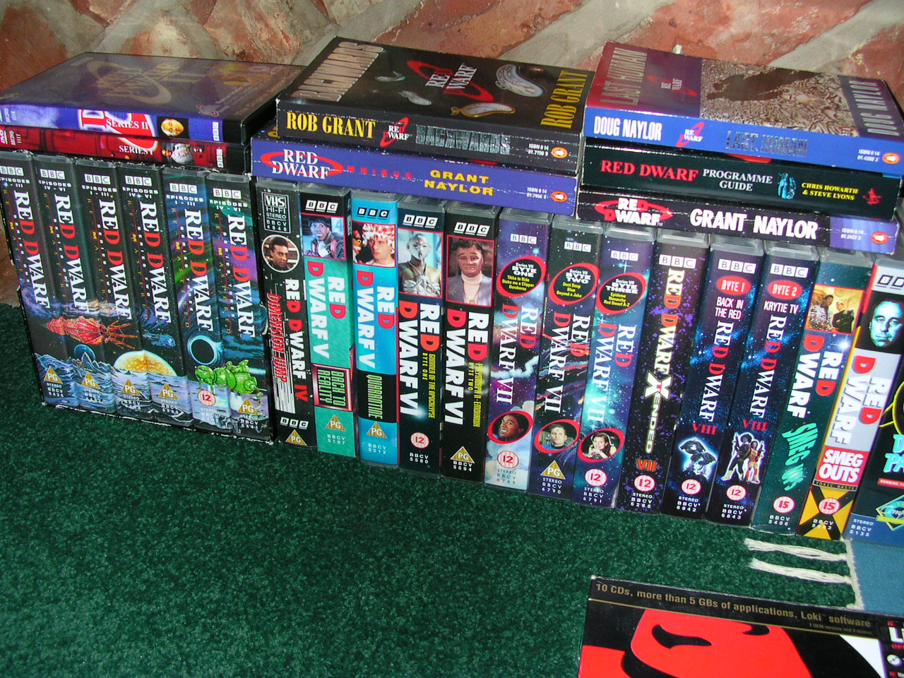 My Red Dwarf collection