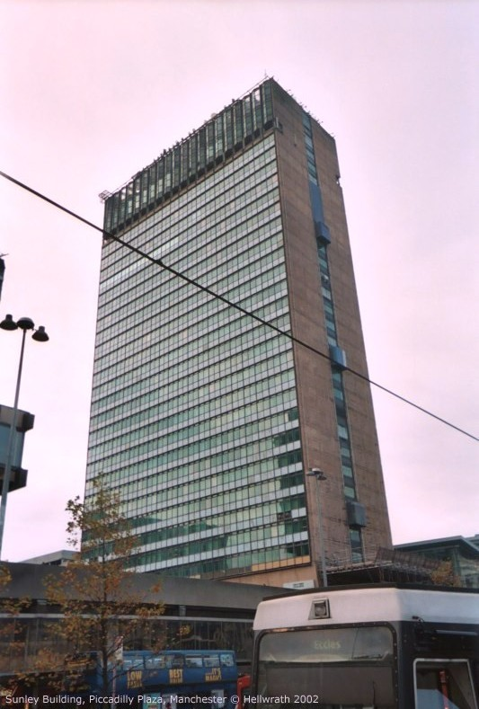 Sunley building, Piccadilly Gardens, Manchester