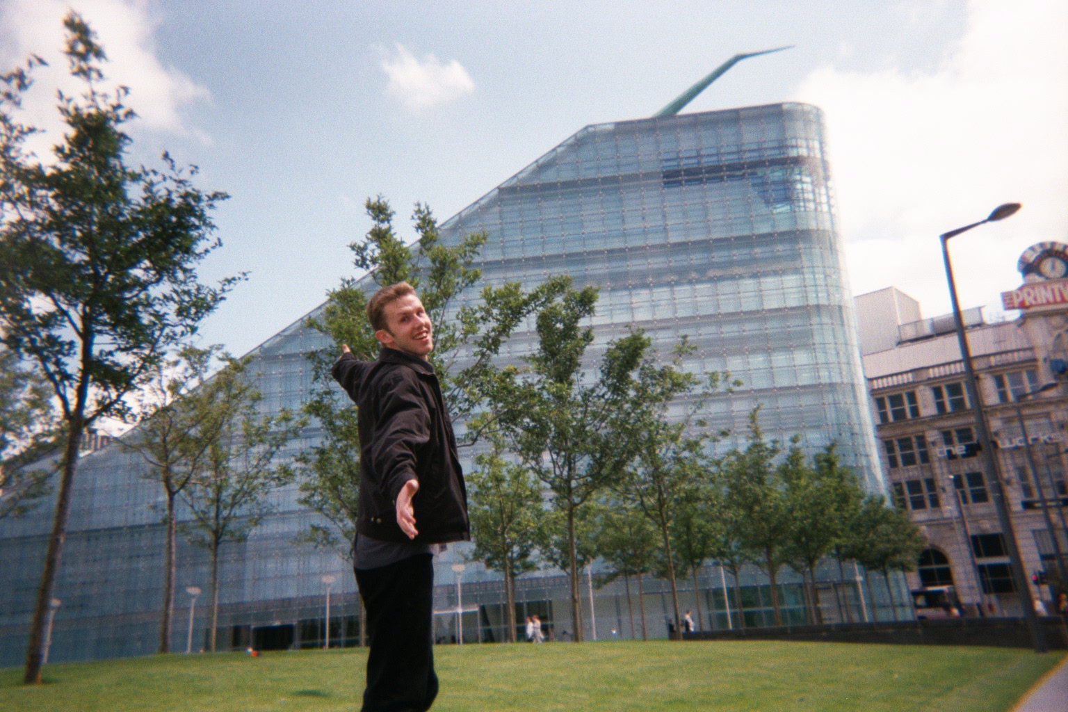 Christian in Cathedral Gardens, Manchester