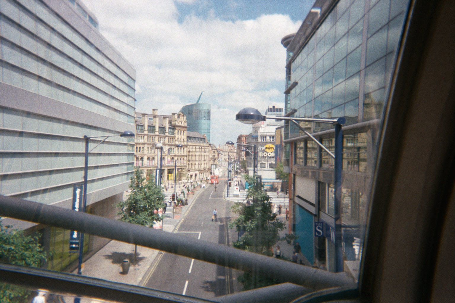 Corporation Street from the Arndale Centre, Manchester