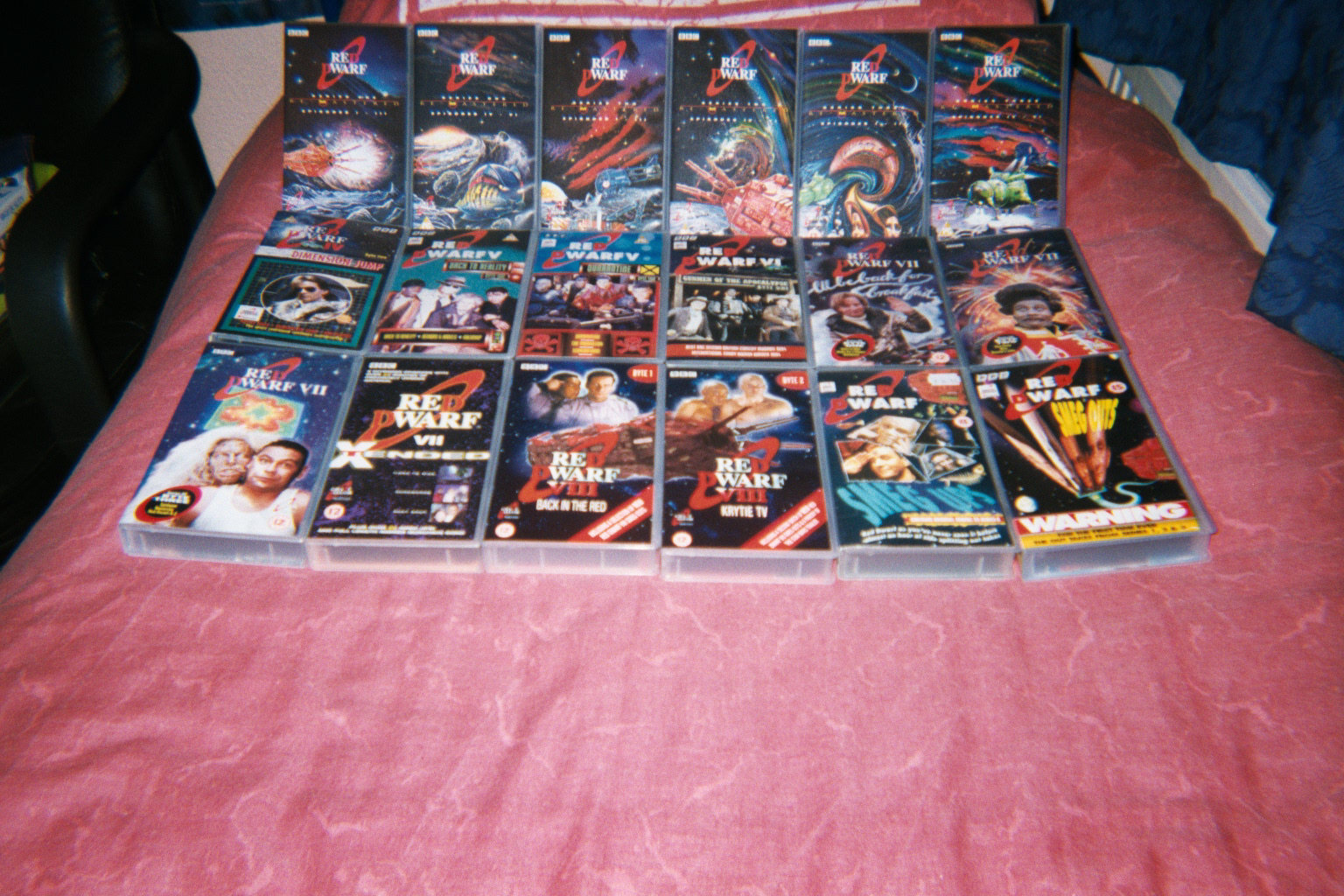 My Red Dwarf VHS collection
