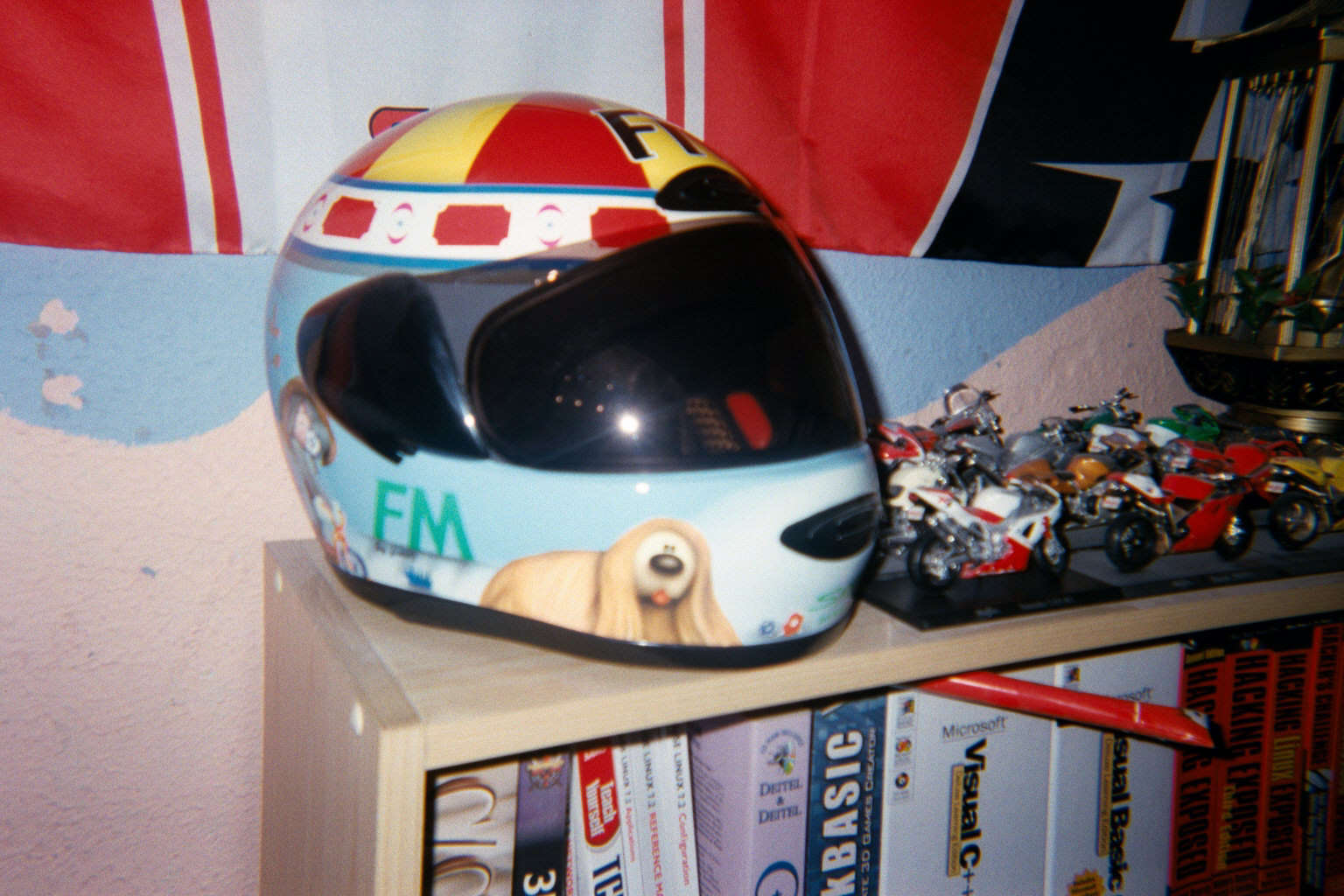 My Magic Roundabout helmet