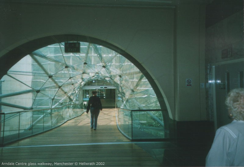 Arndale Centre bridge, Manchester