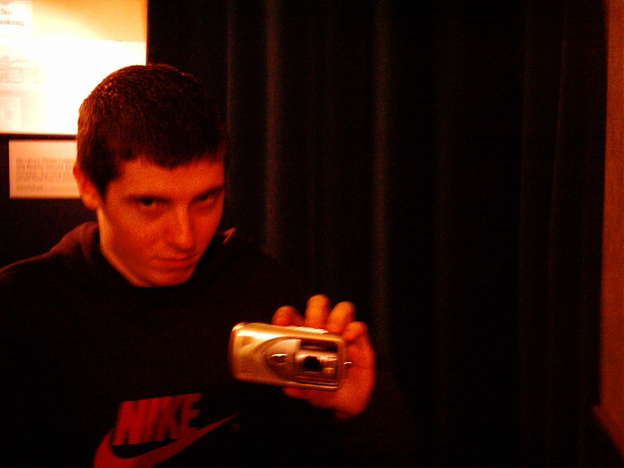 Me with my Nikon Coolpix camera