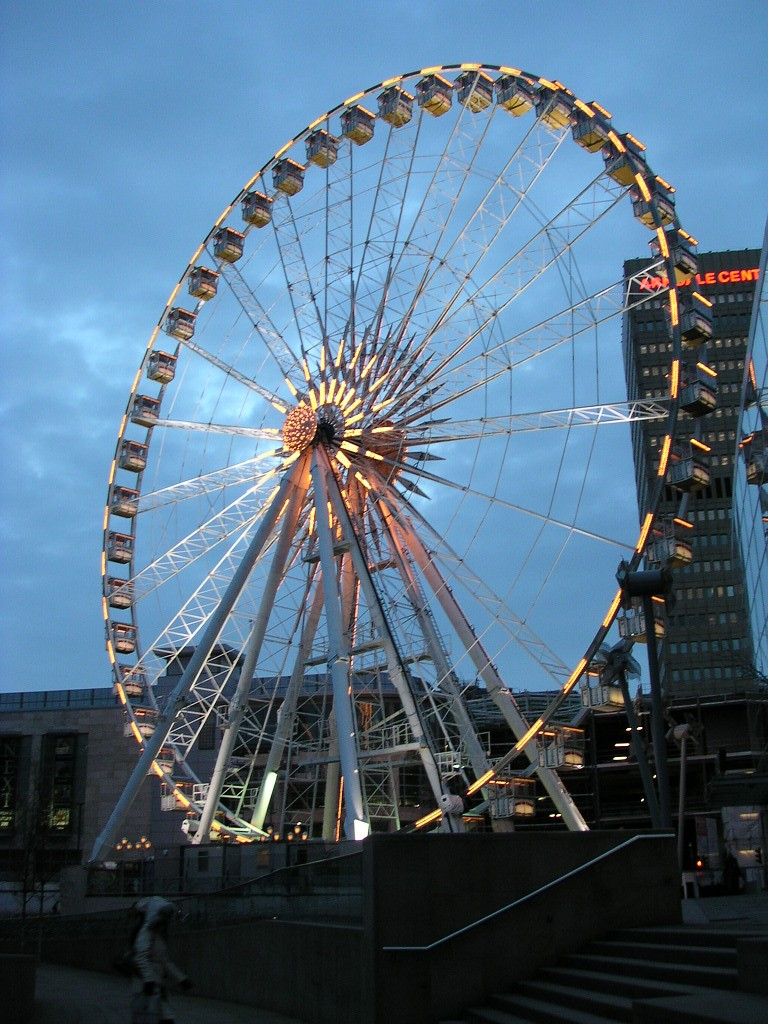 Manchester Wheel, Exchange Square