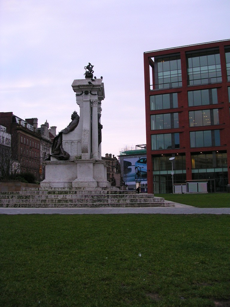 Queen Victoria statue, Piccadilly Gardens, Manchester