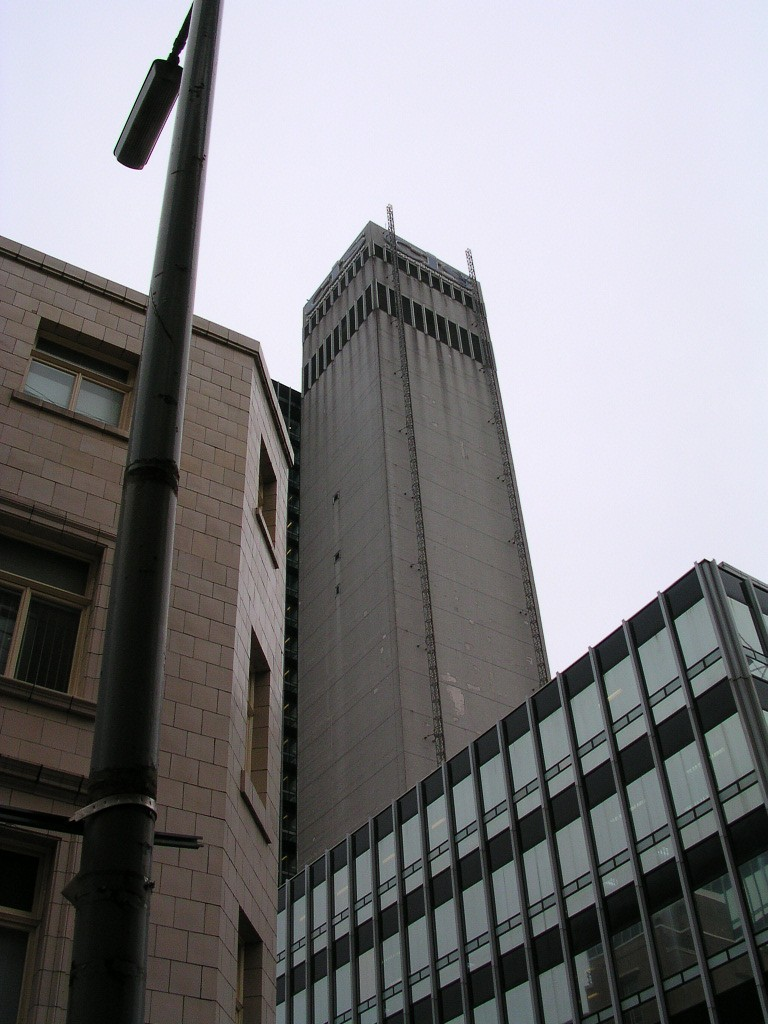 The CIS building, Manchester