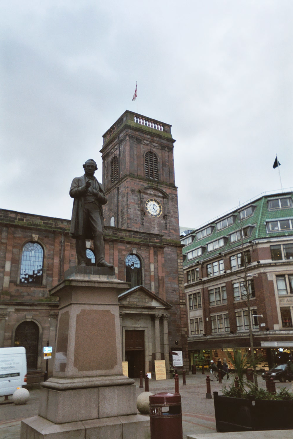 Statue of Richard Cobden, St Ann's Square, Manchester