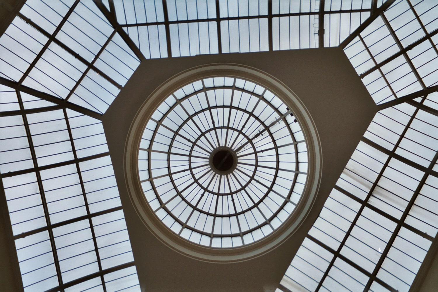 The roof of the Triangle/Corn Exchange, Manchester