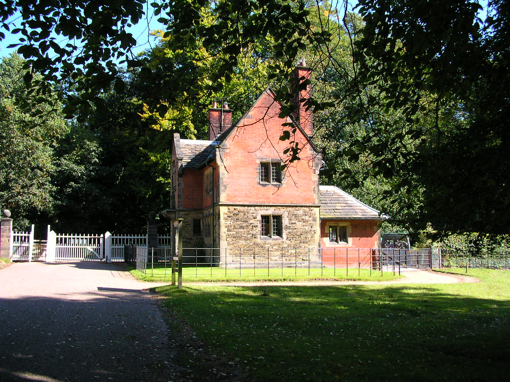 The gatehouse, Main Drive, Dunham Massey, Cheshire