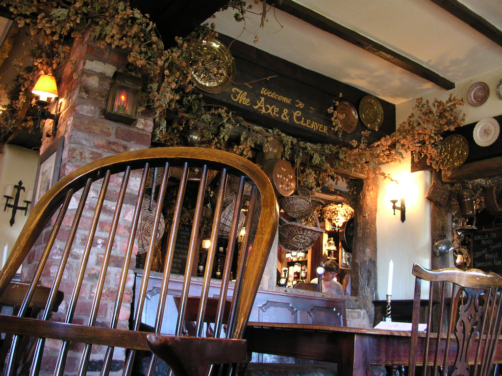 The Axe & Cleaver pub, Dunham Massey, Cheshire