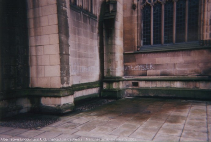 Alternative Encounters URL, Manchester Cathedral