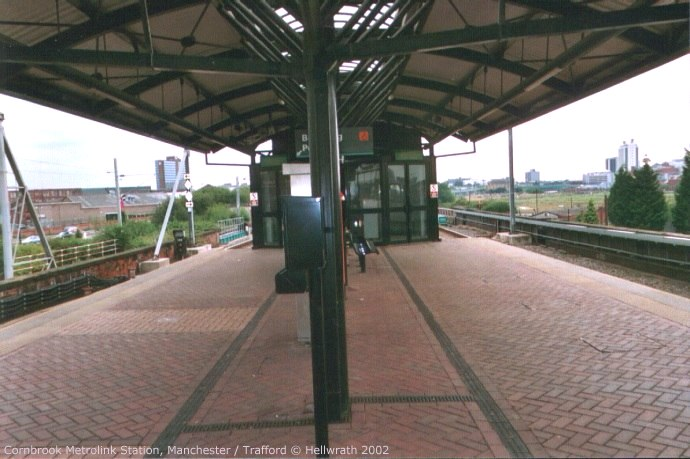 Cornbrook Metrolink station