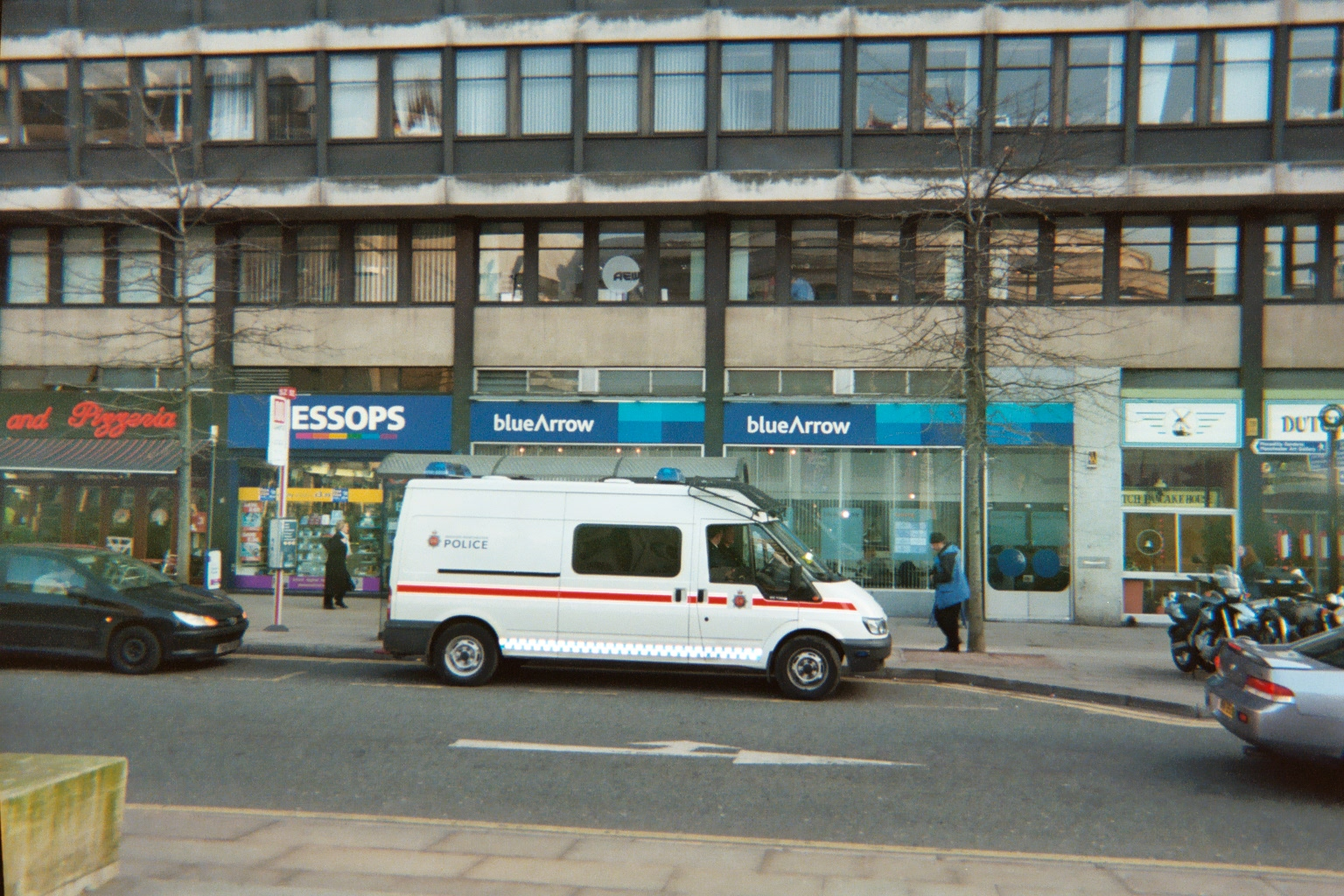 GMP van, St Peters Square, Manchester