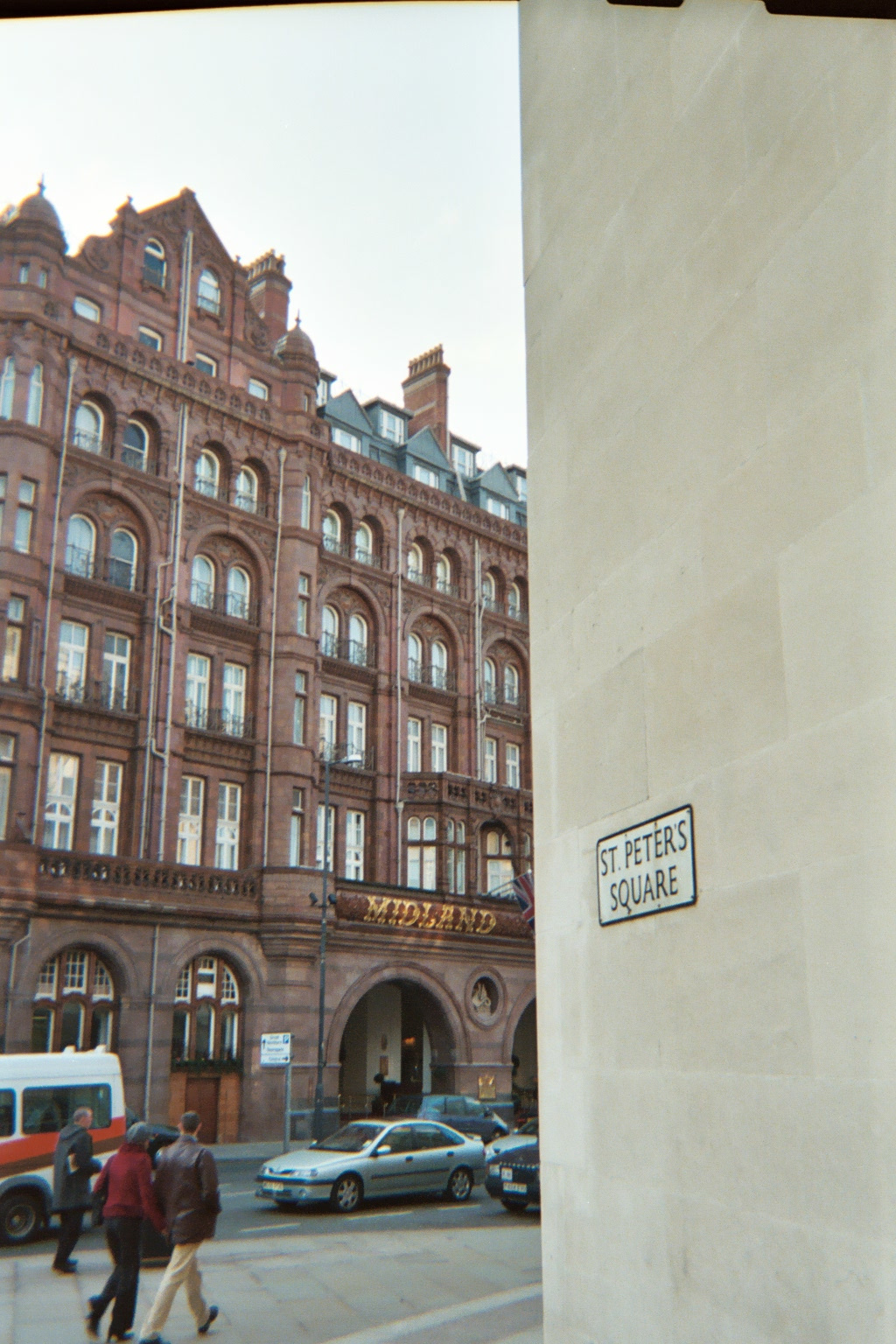 Midland Hotel and St Peters Square, Manchester