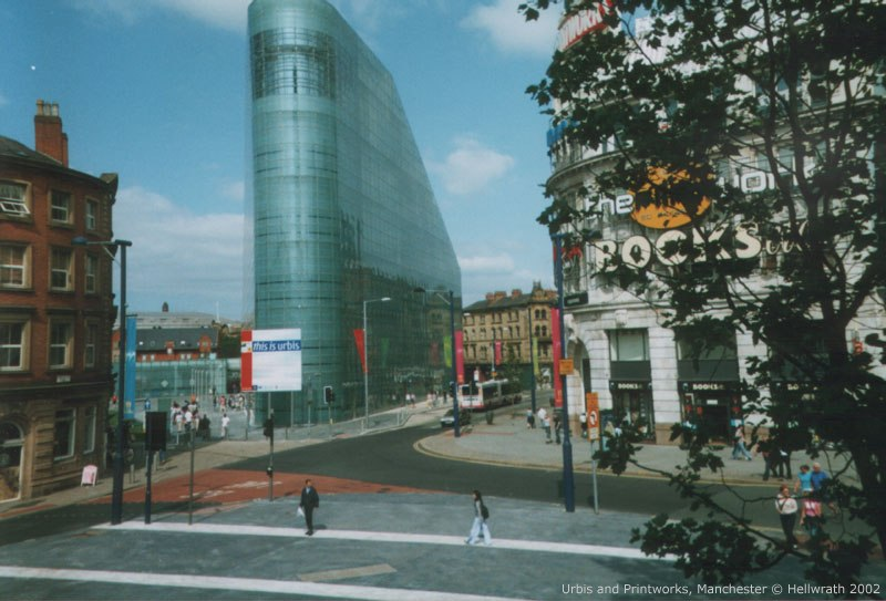 Urbis from Exchange Square, Manchester