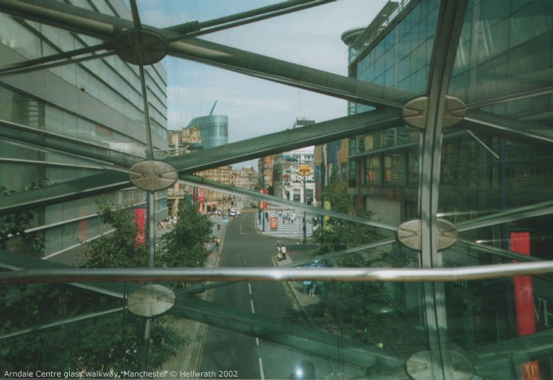 Exchange Square from the Arndale bridge