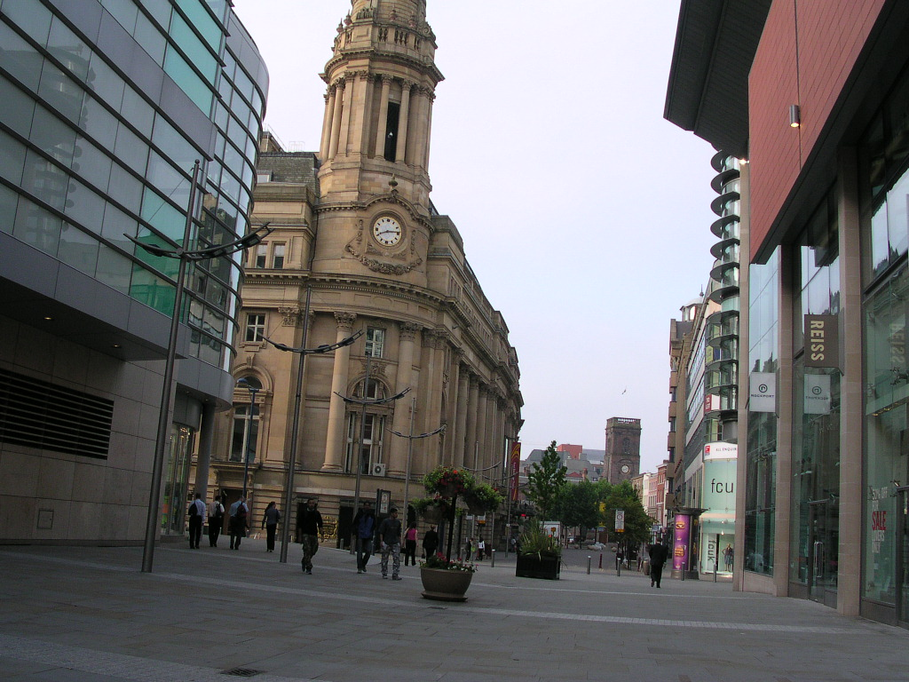 New Cathedral Street, Manchester