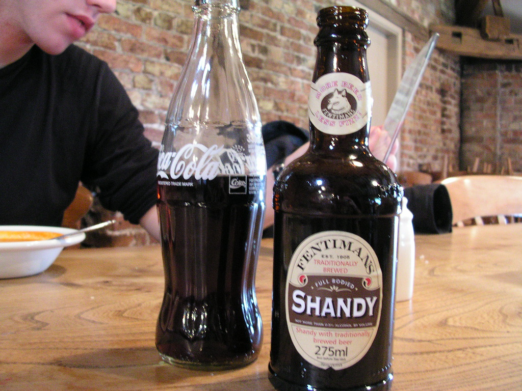 Shandy & Coke at Dunham Massey, Cheshire