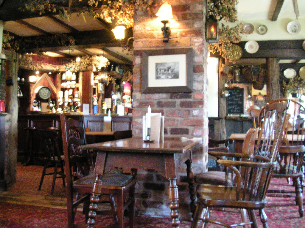 The Axe & Cleaver pub, Dunham Town, Cheshire