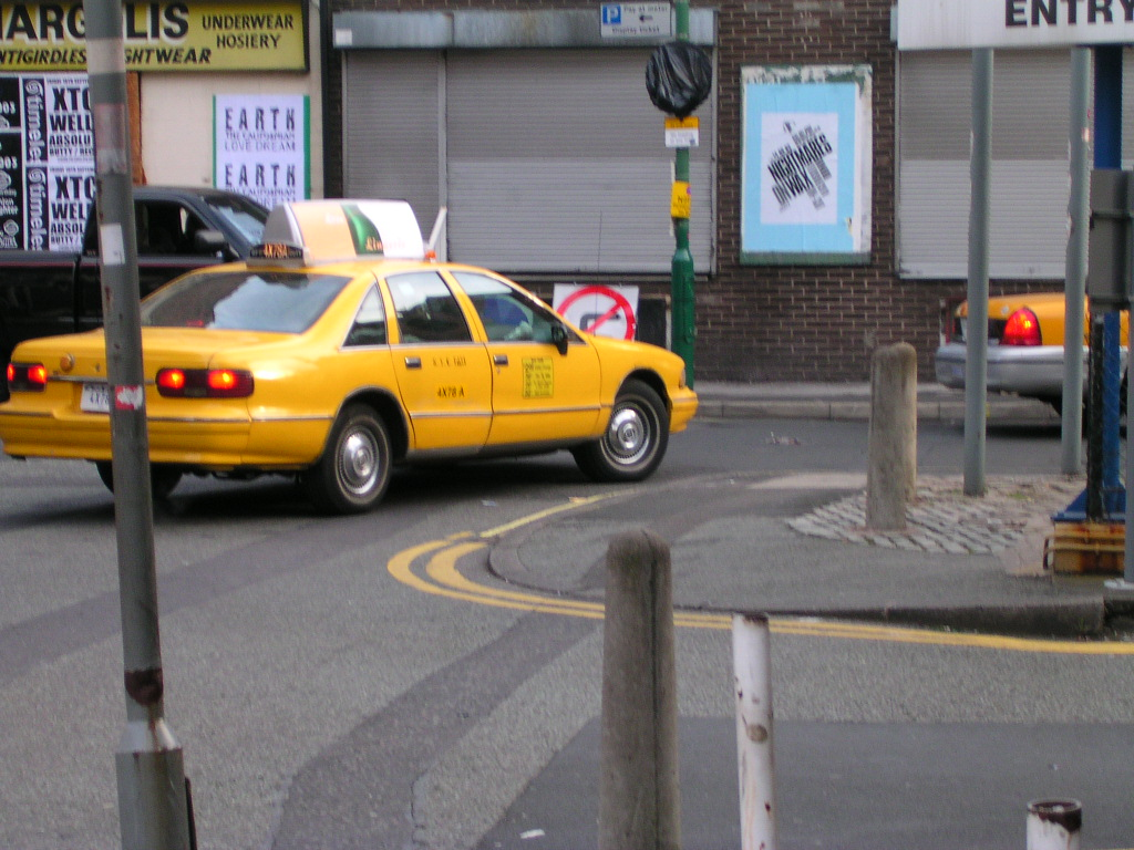 New York yellow taxis, Manchester